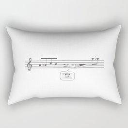 Who's Watching? Rectangular Pillow