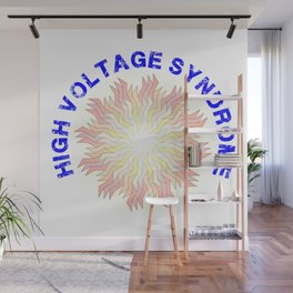 High Voltage Syndrome Wall Mural