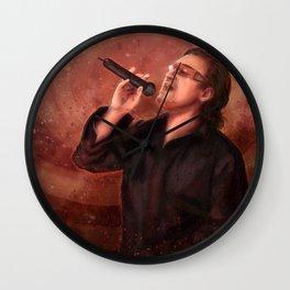 Bono Vox Wall Clock