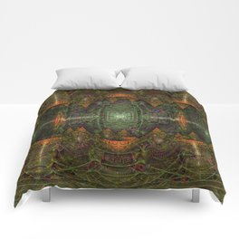 Ayahuasca + Google AI Comforters