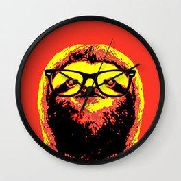 Warhol Cat (3) Wall Clock