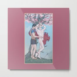 The Liberation of Saint Sebastian Metal Print