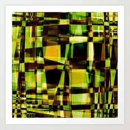 Abstract Achitecture Art Print