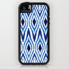Ikat Blue Adventure Case iPhone (5, 5s)