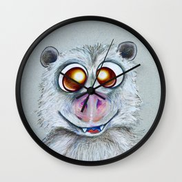 Possibly a possum Wall Clock