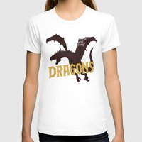 mother of dragons T-shirts featuring Dragons by WEAREYAWN