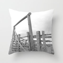 The Old Corral Throw Pillow