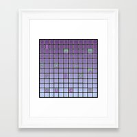 nope Framed Art Prints featuring nope by gasponce