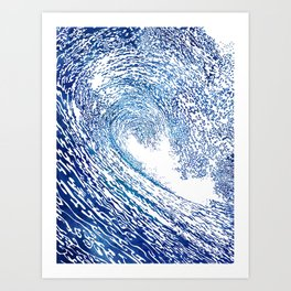 Pacific Waves IV Art Print