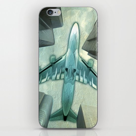 Flight path iPhone & iPod Skin