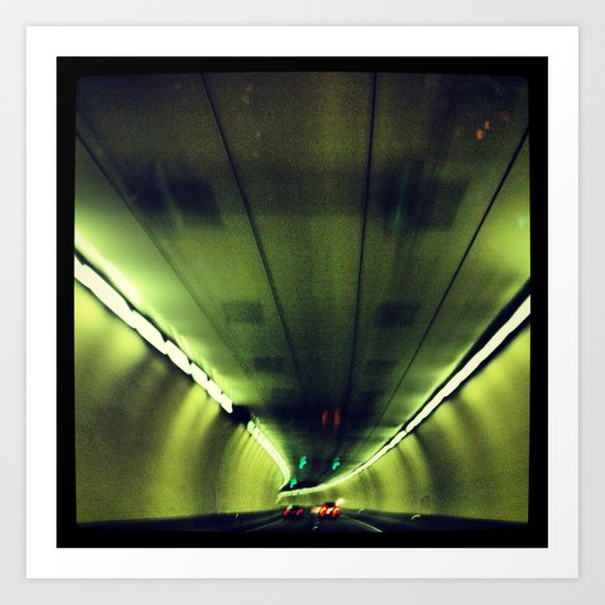 Tunnel Series- 1 Art Print