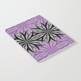 black and purple Notebook