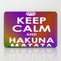 hakuna iPad Cases featuring hakuna matata by  Alexia Miles photography