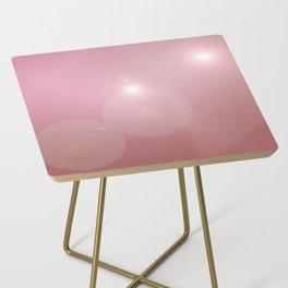 Pinkish Pastel Side Table