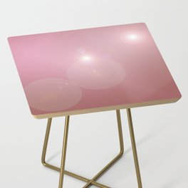Pinkish Pastel Side Table