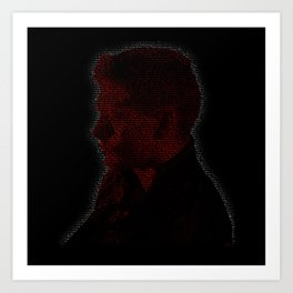 Carry On Dean Winchester Art Print