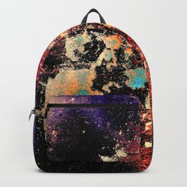 Hull Of An Abstract Backpack