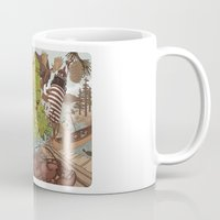 maine Mugs featuring Maine by Jada Fitch