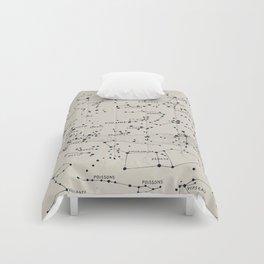 Carte du Ciel II Comforters