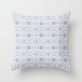 Blueflower Throw Pillow