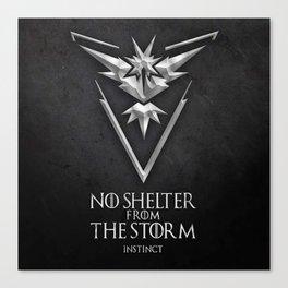Team Storm Instinct Canvas Print
