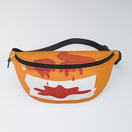 Chicken Wings with BBQ Fanny Pack