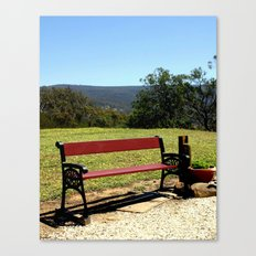Soak up the Sun & the View Canvas Print