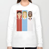 tenenbaum Long Sleeve T-shirts featuring The Children Tenenbaum by Brandon Autry