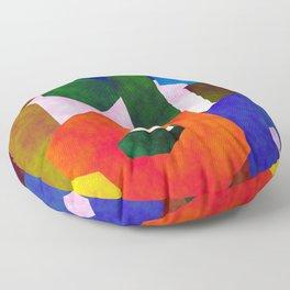 Retro Artistic Pattern Floor Pillow