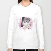 pulp fiction Long Sleeve T-shirts featuring pulp fiction. by Ruwaa
