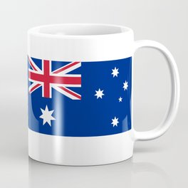 The National flag of Australia, authentic version (color & scale 1:2) Coffee Mug