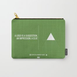 Perfect Logo Series (7 of 11) - Green Carry-All Pouch