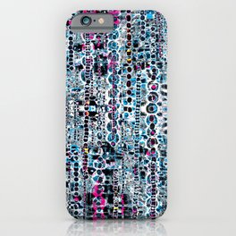 Jubilation- Abstract Mixed Media  iPhone Case