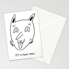 Total Mess Stationery Cards