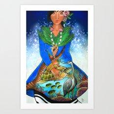 maldivian Art Print