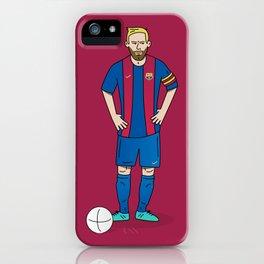 Lionel Messi - Red iPhone Case
