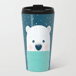 Christmas Bear Travel Mug