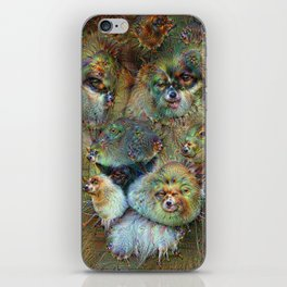 Dream Creatures, Lion, DeepDream iPhone Skin