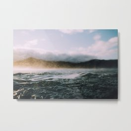 Dark Waves II Metal Print