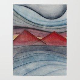 Geometric landscapes 06 Poster
