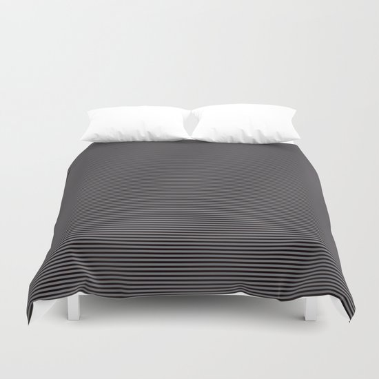 Soft Parisian Stripes Duvet Cover