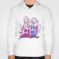 jessica lange Hoodies featuring Jessica Lange - Emmys 2014 by BeeJL