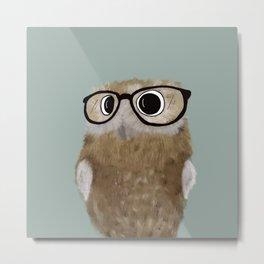 Owl Be Seeing You Metal Print