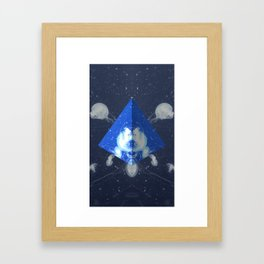 Jelly Triangle Framed Art Print