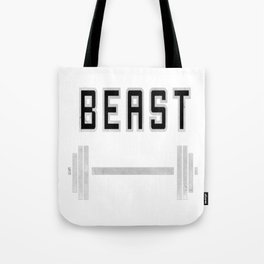 I am a beast at the gym Tote Bag