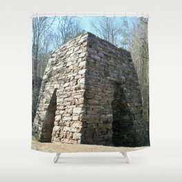 Coopers's Furnace in Cartersville GA Shower Curtain