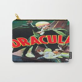 Vintage poster - Dracula Carry-All Pouch