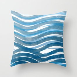 Ocean's Skin Throw Pillow