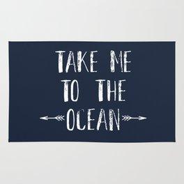 Take me to the ocean Rug