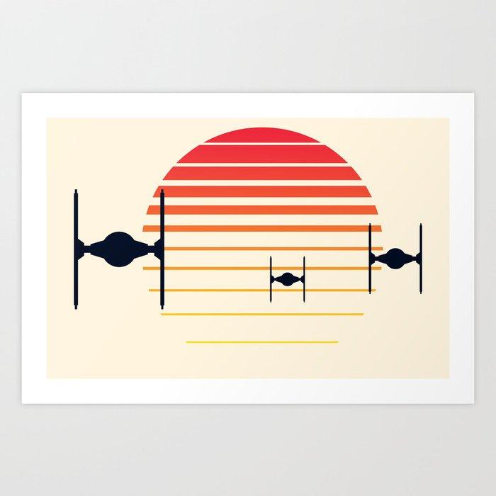 Order of the Rising Sun Art Print